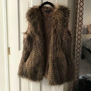 Via Spiga faux fur vest